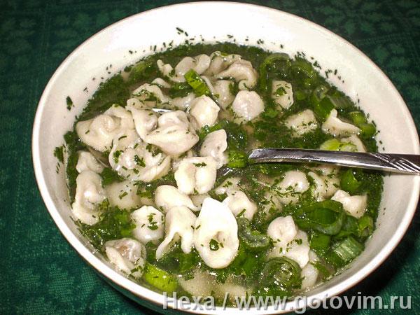 Къашык-аш (суп с пельменями)