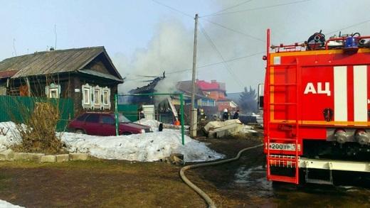 ВИжевске при пожаре погибли четверо, изних двое детей
