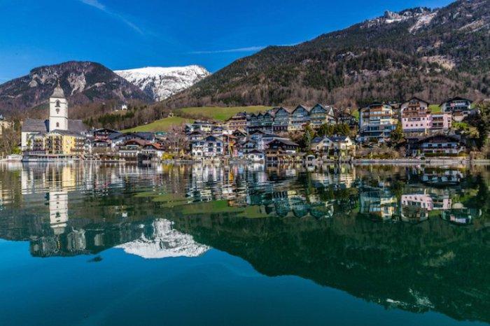 Одно из самых красивых озер Австрии, расположенное среди удивительной природной красоты.
