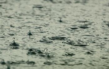 Черный дождь пошел в некоторых районах Эстонии