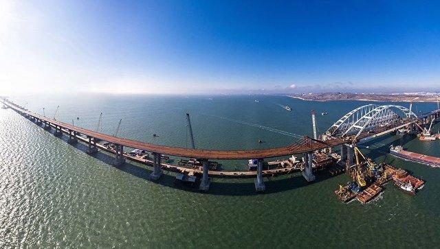 Строители объяснили обнаруженную украинскими СМИ «проблему» Крымского моста