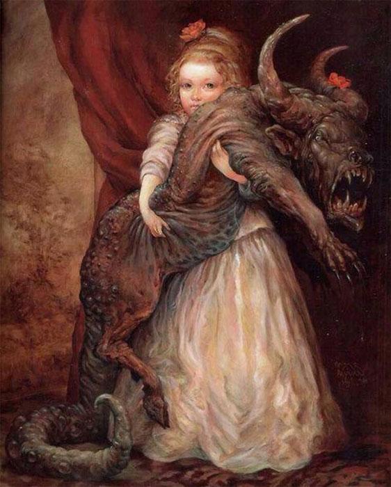 Про историю с одной картины: Тапочек принцессы, картина «The Favourite» от Omar Rayyan