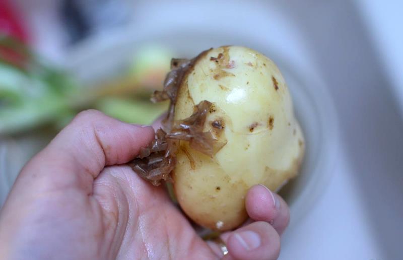 вымачивание картофеля для ребенка