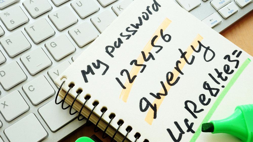 Названы неудачные пароли, ко…