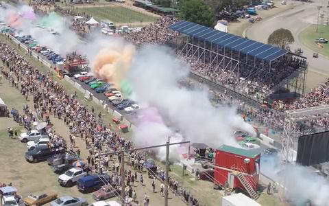 Не щадя резины: установлен мировой рекорд по бернауту