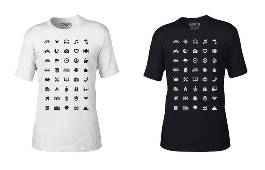 Как заговорить на всех языках мира с помощью не совсем обычной футболки