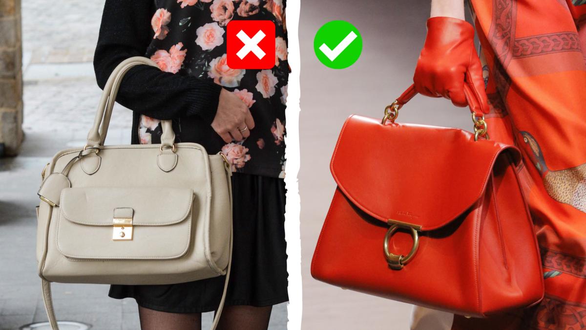Показываем 3 модели устаревших сумок, которые портят модную репутацию