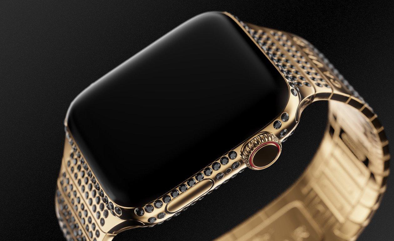 В России презентовали гибрид iPhone XS с часовым механизмом класса люкс
