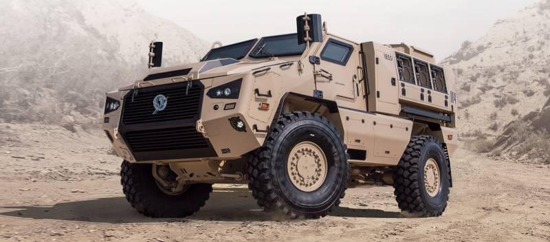 Бронеавтомобиль Mbombe 4 (ЮАР)