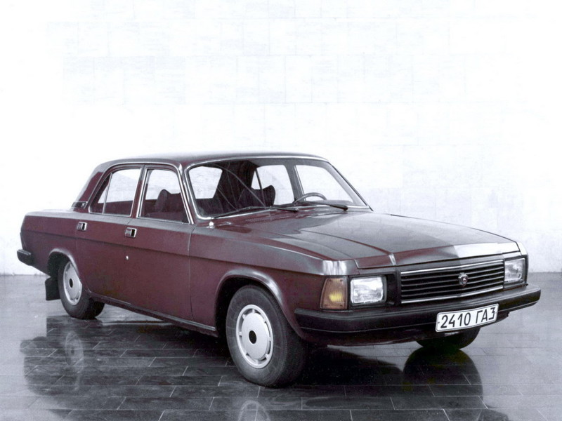 20. Вторая попытка сделать фейслифтинг был предпринят в 1982. Но пошла другая машина, а наработка была использована для ГАЗ 3102  авто, история, ссср