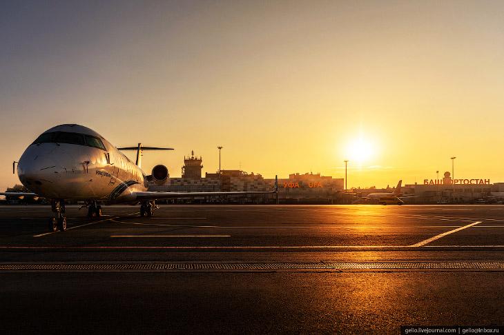 Аэропорт «Уфа»— воздушные в…