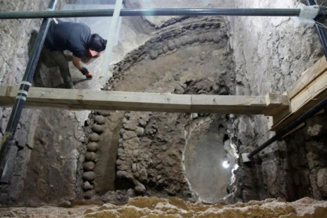 Храм из черепов: страшная находка в подземном тоннеле ацтеков