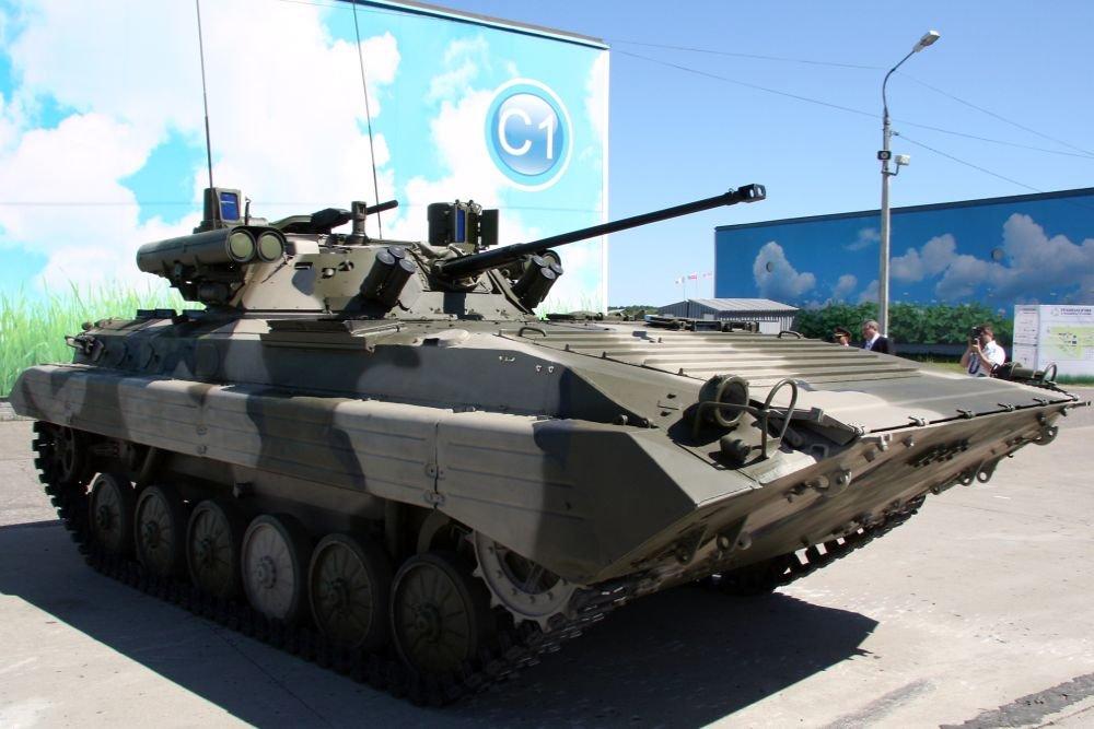 БМП-2 превратили в истребитель танков