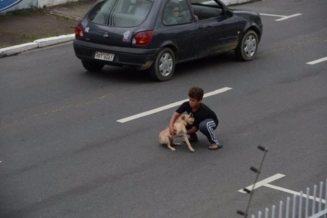 Этот 11-летний мальчик выбежал на проезжую часть... Окружающие ахнули, когда узнали причину!