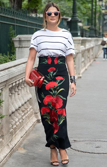 Как носить длинную юбку летом: 20 стильных и современных образов