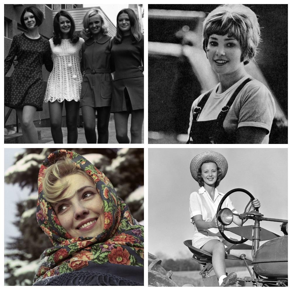 Прелестные девушки на разных полюсах холодной войны.