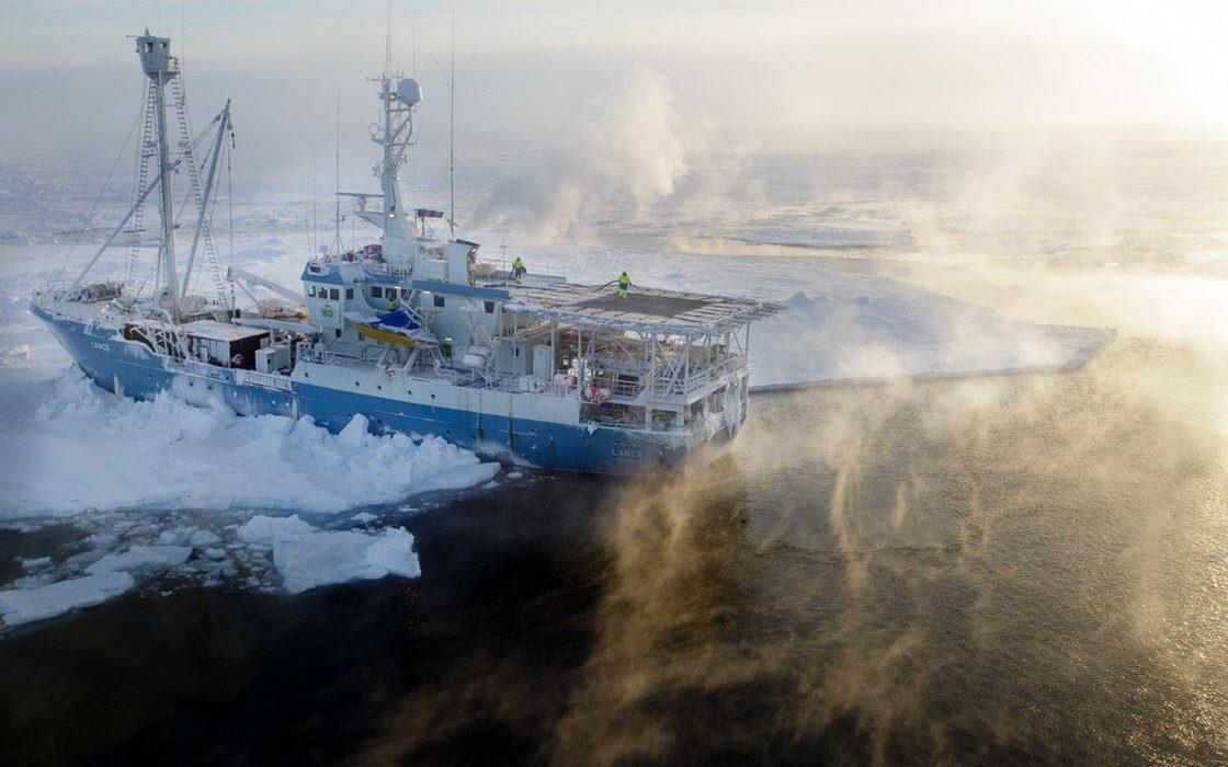 Арктические пейзажи Ника Коббинга