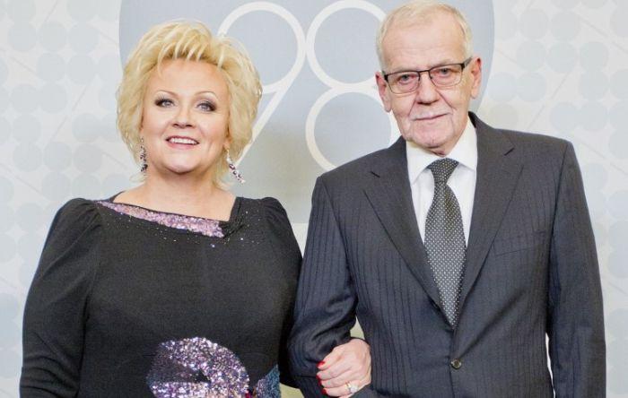 Анне Вески и Бенно Бельчиков: Как роман, начавшийся с обмана, стал счастьем всей жизни популярной певицы