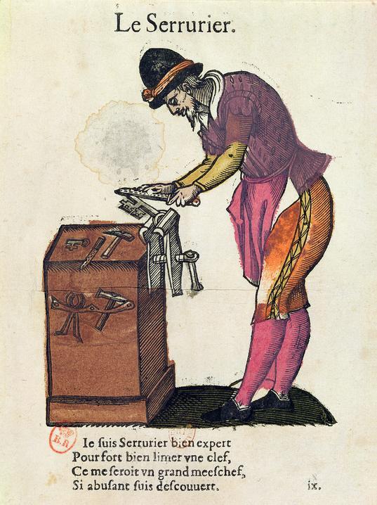 Французский ремесленник - хозяин слесарной мастерской - просил передать всем русским свои слова