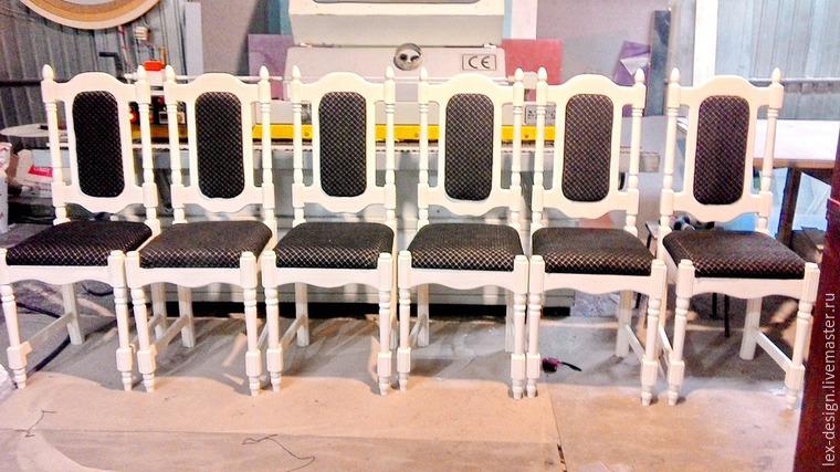 Реставрируем деревянные стулья