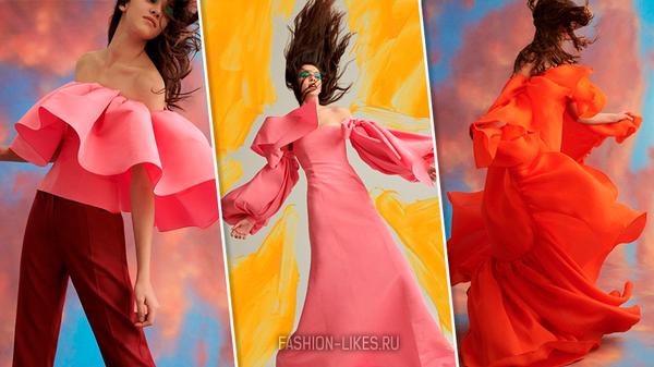 Мы в восторге от новой коллекции Carolina Herrera, это что-то невероятно сказочное