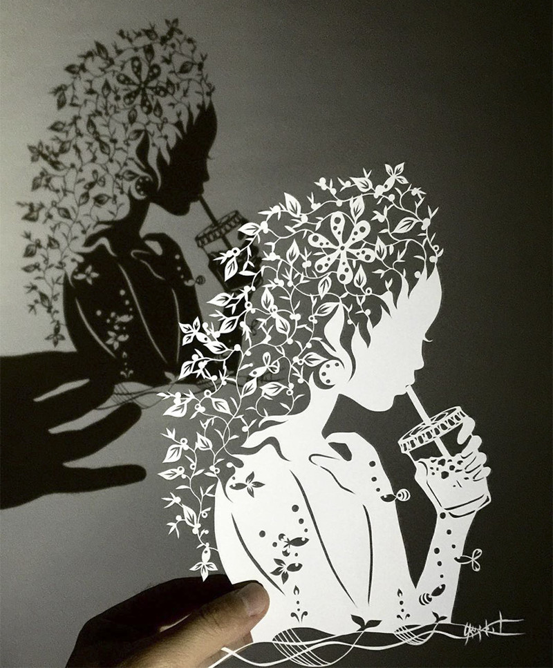 Женщина-бриз Мандалы, бумага, зентангл, художник