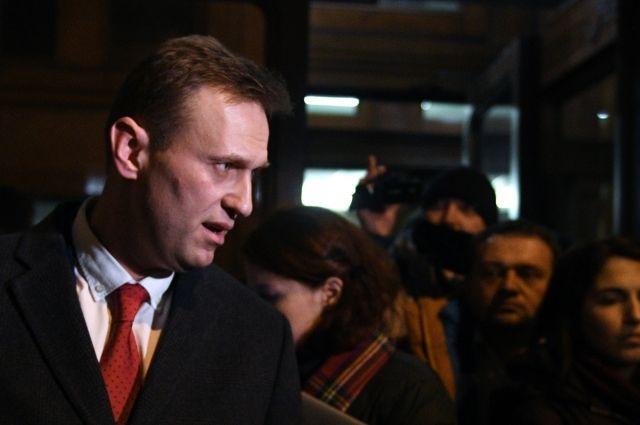В Москве суд арестовал Навального на 20 суток