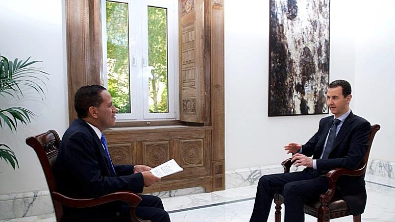 Асад: у Трампа нет своего курса — в США все политики должны лгать