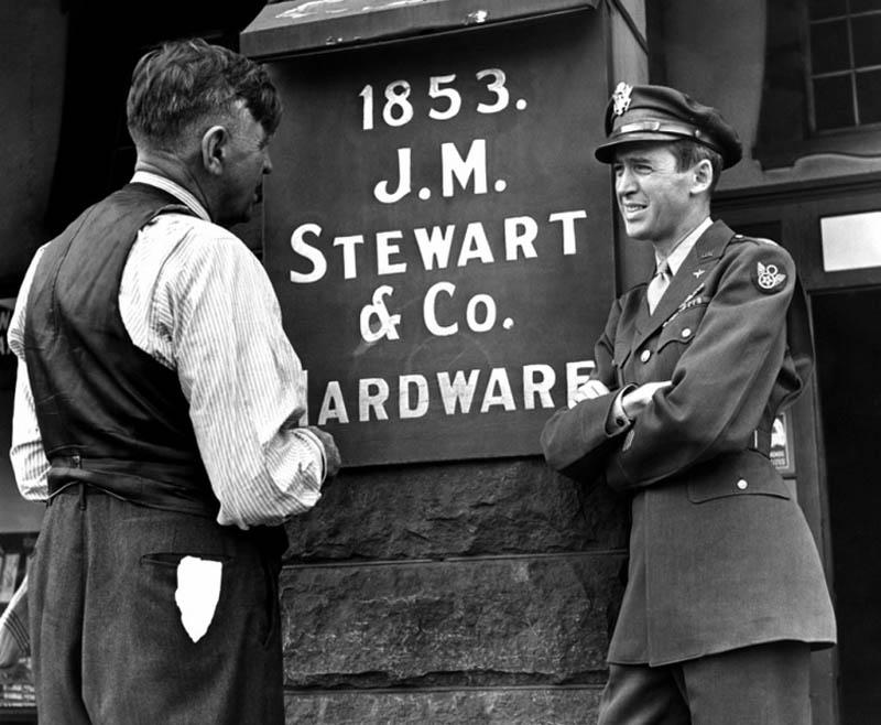 Джимми Стюарт— герой войны