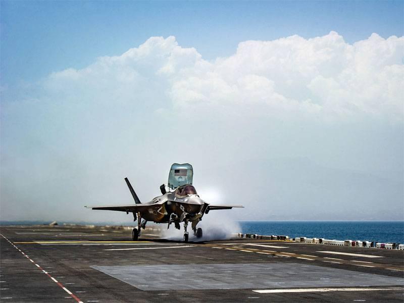 В США очередная проблема с F-35. Полёты десятков истребителей приостановлены
