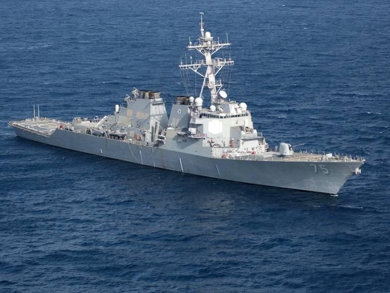 Вашингтон вновь послал в Черное море свой эсминец
