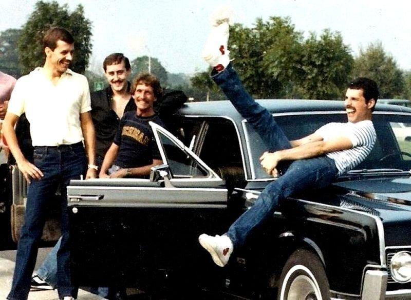 Фредди Меркьюри и его автомобили