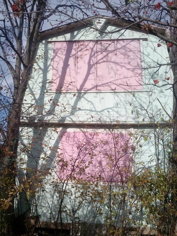 """Как превратить старый садовый домик в """"конфетку"""" без сильных затрат"""