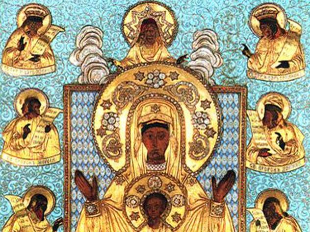 Старинная икона Божьей Матери «Знамение». Необычная судьба православной святыни