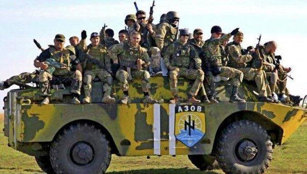 Боевики «Азова» проводят зачистки сторонников ДНР на Донбассе