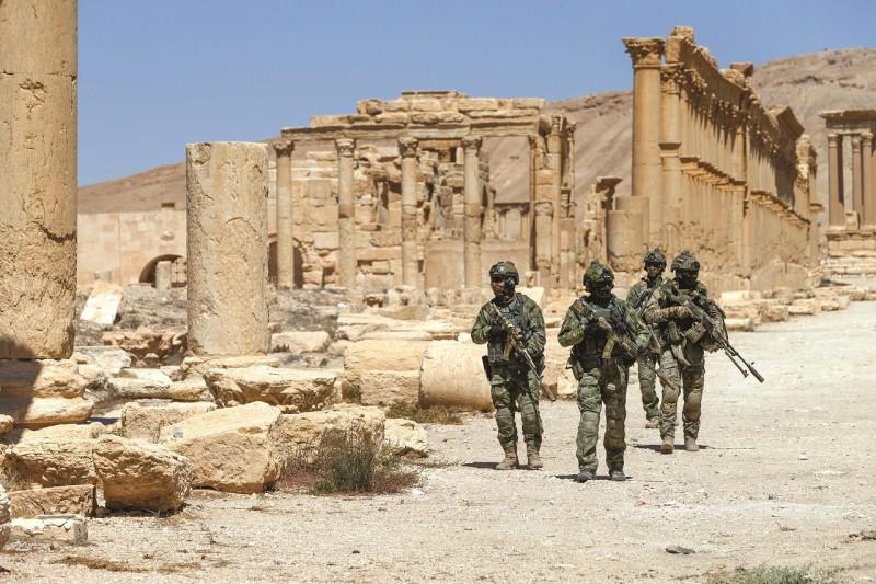 Бой российского спецназа против боевиков в Сирии