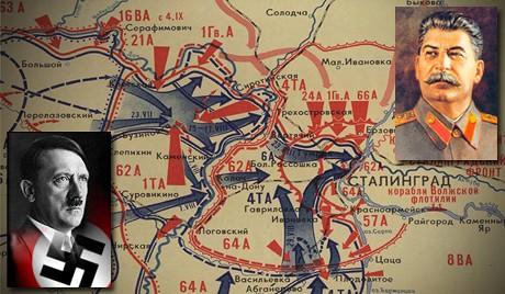 Сталин и Гитлер: встреча на Волге