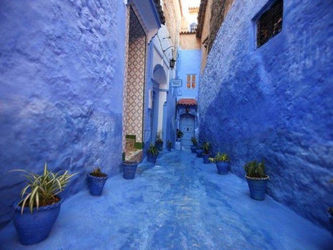 путешествие синий город 01