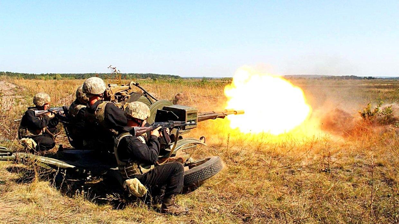 Киевские боевики за минувшие сутки обстреляли 11 населенных пунктов ДНР