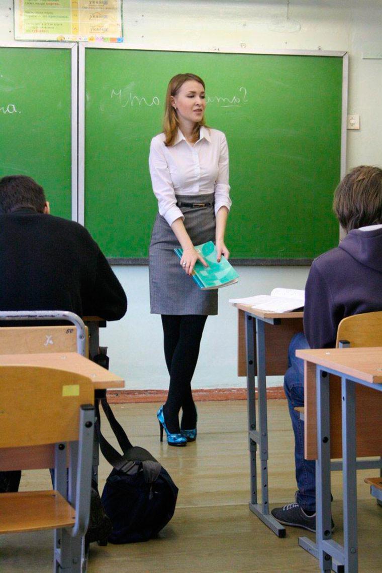 Учители заставили ученики на сексе