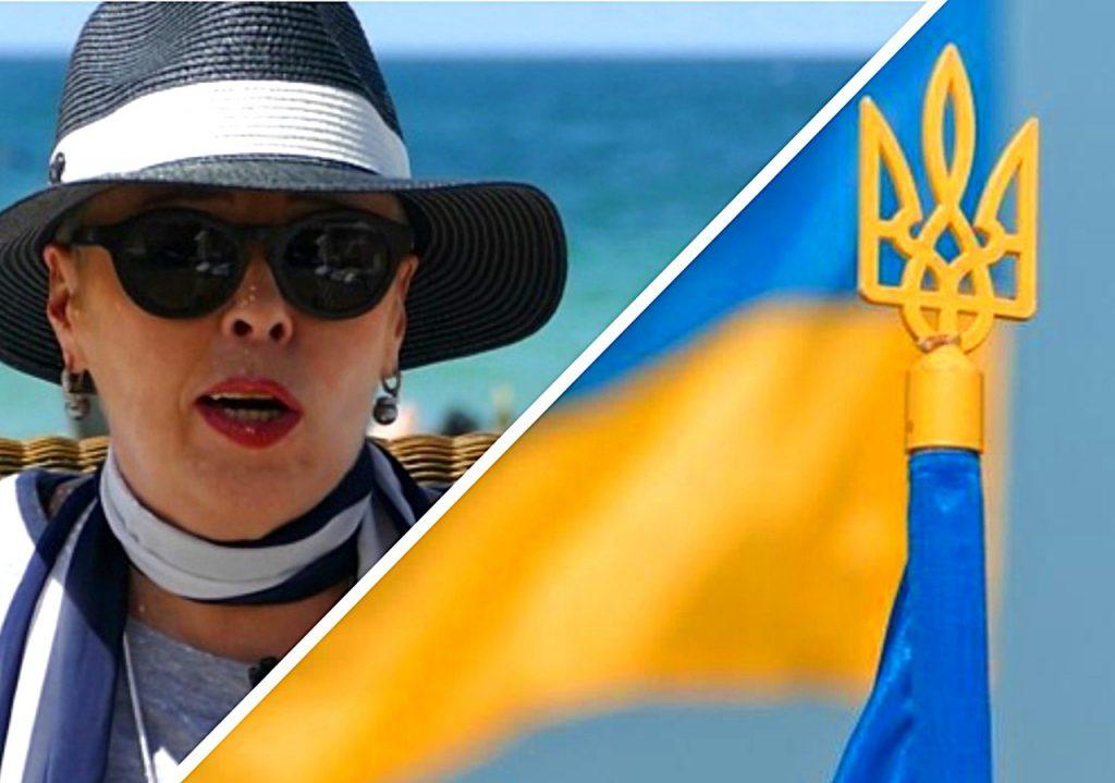 Украинская телеведущая резко…