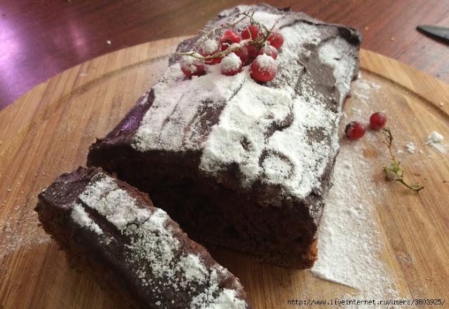 Вкусный и красивый шоколадный кекс