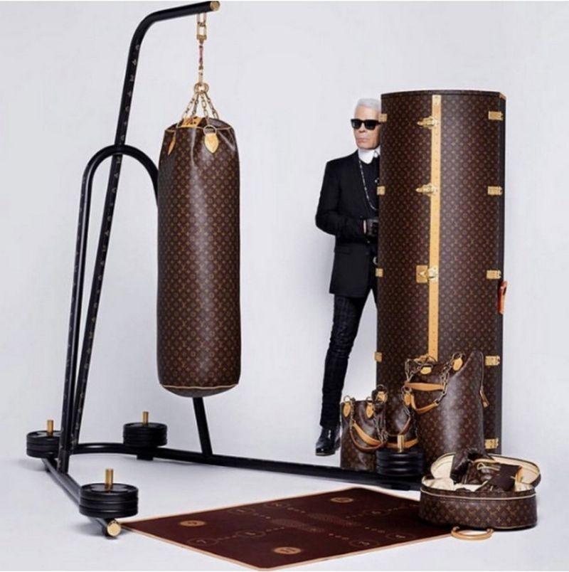 Louis Vuitton и Karl Lagerfe…
