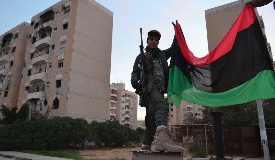 Россия перебирается в Ливию