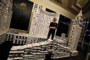 Карточный скульптор Брайан Берг (Bryan Berg)