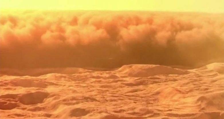 Ядовитые марсианские грозы