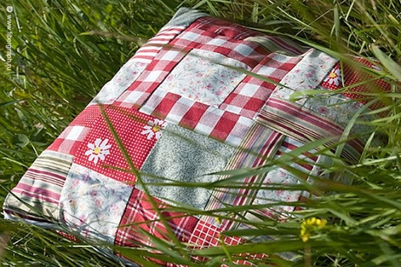 Как сделать подушку из лечебных трав