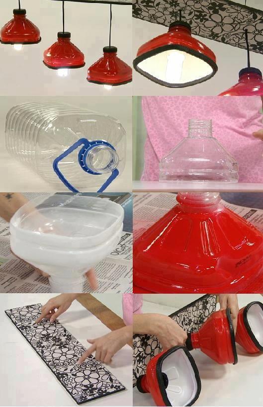 Светильник для дачи своими руками из подручных материалов 25