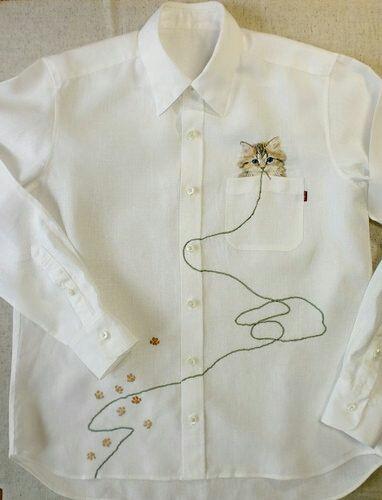 Вышитые рубашки