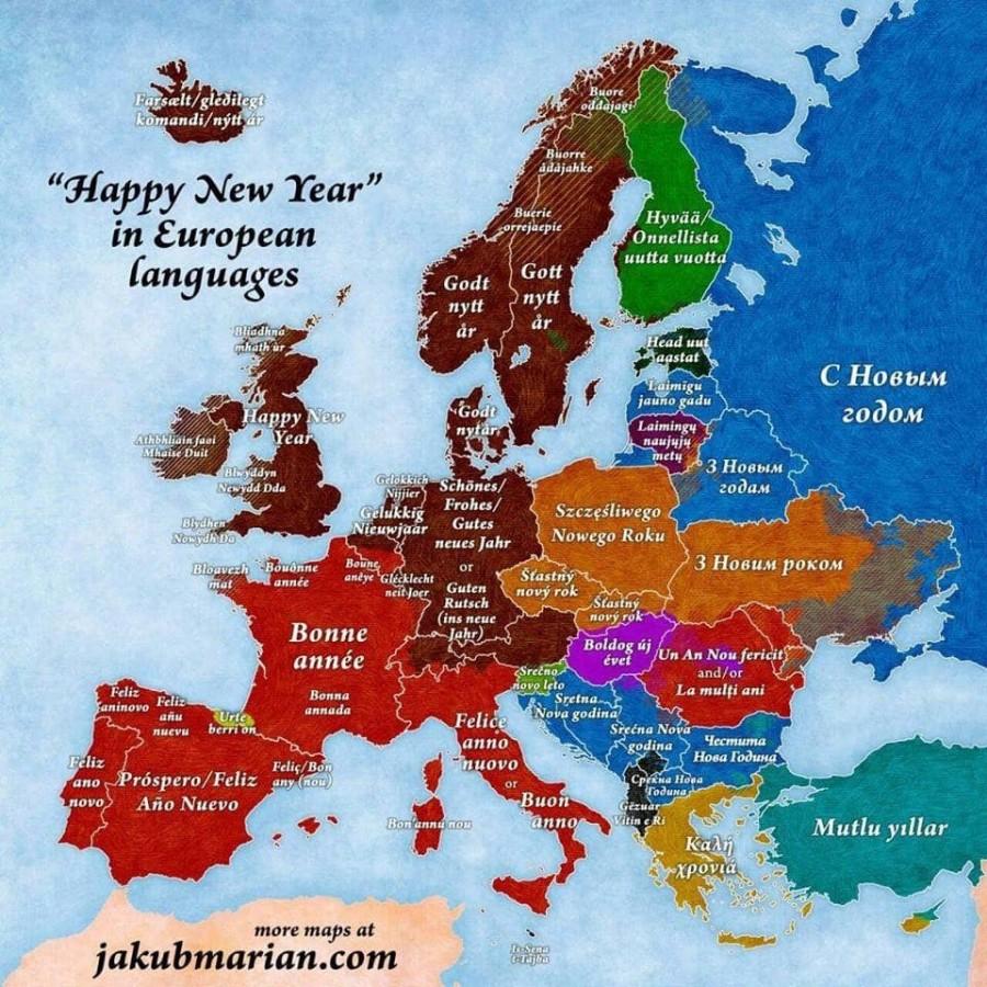 """""""С Новым Годом!"""" В странах Европы"""